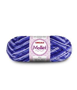 Lã Mollet 40g Cor - 9563 - VINHEDO