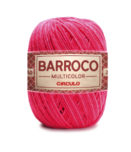 Barbante Barroco Multicolor N.6 200g Cor 9153 - CABARÉ