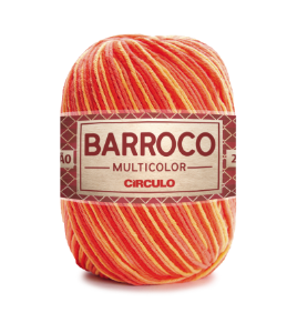Barbante Barroco Multicolor N.6 200g Cor 9157 - PITANGA