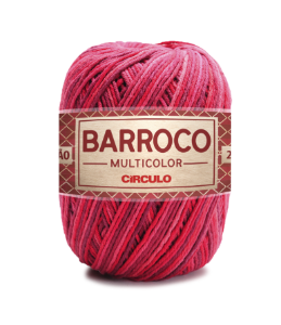 Barbante Barroco Multicolor N.6 200g Cor 9245 - GELEIA