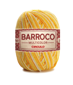 Barbante Barroco Multicolor N.6 200g Cor 9368 - RAIO DE SOL