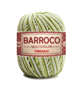 Barbante Barroco Multicolor N.6 200g Cor 9391 - BABOSA