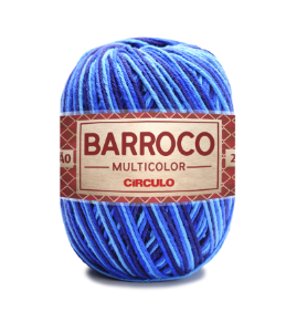 Barbante Barroco Multicolor N.6 200g Cor 9482 - PACÍFICO