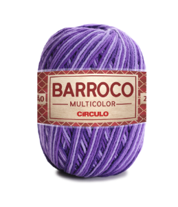 Barbante Barroco Multicolor N.6 200g Cor 9563 - VINHEDO