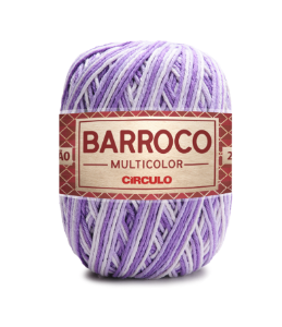Barbante Barroco Multicolor N.6 200g Cor 9587 - BONECA