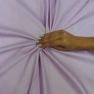 Tecido Tricoline Cotton Com Elastano Lilás - 97% Algodão 3% Elastano - 1,00x1,50m