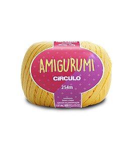 Fio Amigurumi 254m Círculo - Cor 1317 - SOLAR