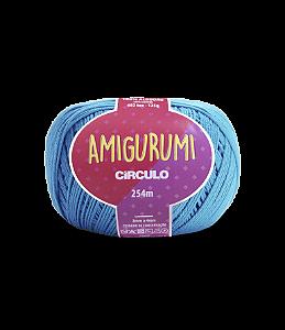 Fio Amigurumi 254m Círculo - Cor 2194 - TURQUESA