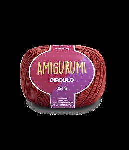 Fio Amigurumi 254m Círculo - Cor 3583 - CEREJA