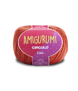 Fio Amigurumi 254m Círculo - Cor 4095 - RUM