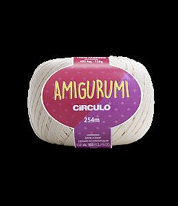 Fio Amigurumi 254m Círculo - Cor 8176 - OFF-WHITE