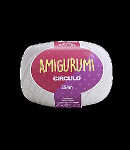 Fio Amigurumi 254m Círculo - Cor 8001 - BRANCO