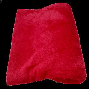Manta De Microfibra Casal Altomax - 1,80 x 2,00m - Vermelho