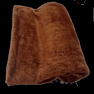 Manta De Microfibra Casal Altomax - 1,80 x 2,00m - Marrom