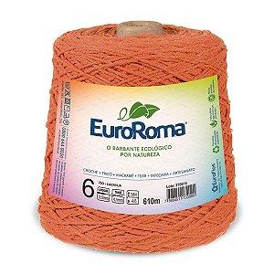 Barbante Euroroma 6 600g - Laranja - 750