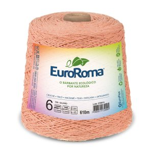 Barbante Euroroma 6 600g - Salmão - 700