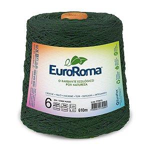 Barbante Euroroma 6 600g - Verde Musgo - 804