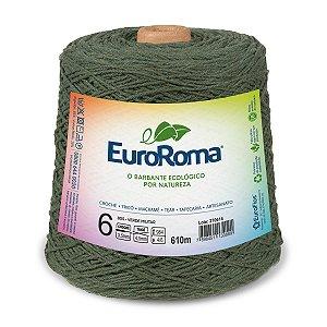 Barbante Euroroma 6 600g - Verde Militar - 805
