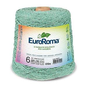 Barbante Euroroma 6 600g - Verde Água Claro - 800