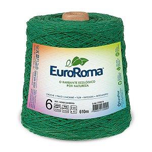 Barbante Euroroma 6 600g - Verde Bandeira - 803