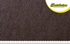 Feltro Craft Estilotex Marrom Cor 377 - 100x140cm