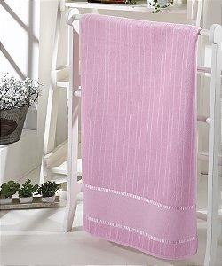 Toalha de Banho Para Bordar Bella - Cor 5211 - ROSA