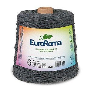 Barbante Euroroma 6 600g - Chumbo - 350