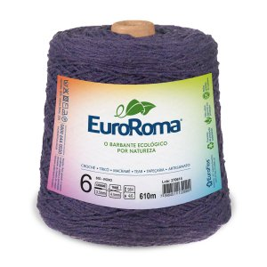 Barbante Euroroma 6 600g - Roxo - 610