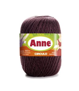 Linha Anne 500 Circulo - Cor 7311 - TABACO