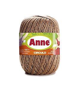 Linha Anne 500 Circulo - Cor 7625 - CASTANHA