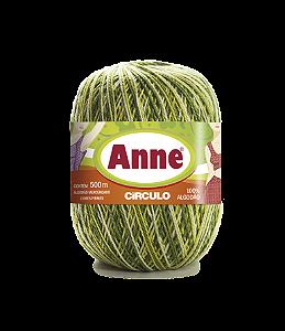 Linha Anne 500 Circulo - Cor 9462 - OLIVA