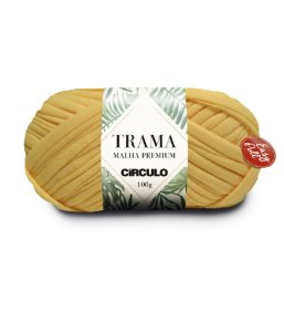 Fio Trama Malha Premium Círculo Cor - 1236 - AMARELO CANDY