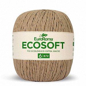 Barbante Ecosoft Euroroma - 8/12 | 452m Cor 1110 - Bege