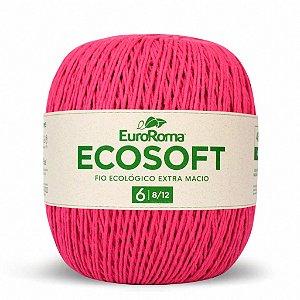 Barbante Ecosoft Euroroma - 8/12 | 452m Cor 550 - Pink