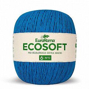 Barbante Ecosoft Euroroma - 8/12 | 452m Cor 901 - Azul Piscina