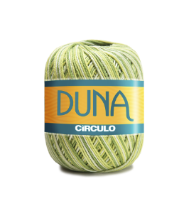 Linha Duna 100g Círculo - Cor 9462 - OLIVA