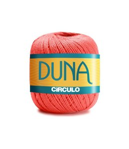 Linha Duna 100g Círculo - Cor 4004 - CORAL VIVO