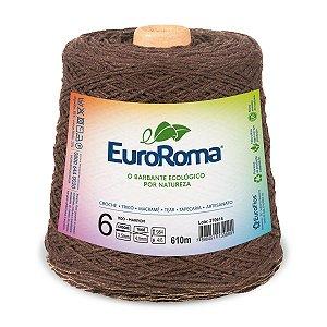 Barbante Euroroma 6 600g - Marrom - 1100