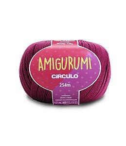Fio Amigurumi 254m Círculo - Cor 3154 - VINHO