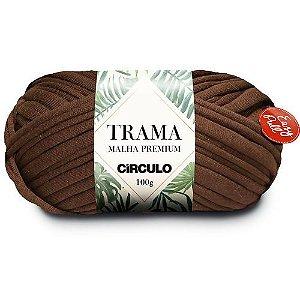 Fio Trama Malha Premium Círculo Cor - 7311 - TABACO
