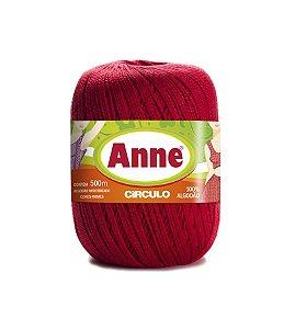 Linha Anne 500 Circulo - COR 3581 - PIMENTA
