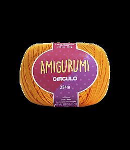 Fio Amigurumi 254m Círculo - Cor 4131 - DARK CHEDDAR