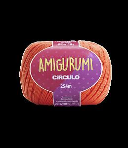 Fio Amigurumi 254m Círculo - Cor 4448 - TIJOLO
