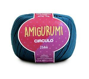 Fio Amigurumi 254m Círculo - Cor 5073 - PETRÓLEO