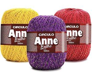 Linha Anne 500 Brilho Círculo 147g