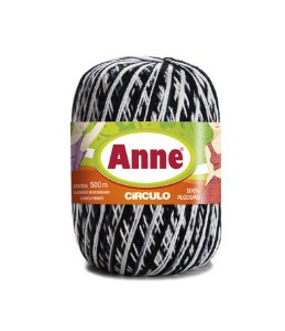 Linha Anne 500 Circulo - Cor 9016 - ZEBRA