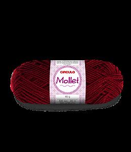 Lã Mollet 40g Cor - 115 - RUBI