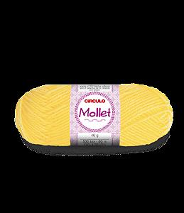 Lã Mollet 40g Cor - 1245 - CANÁRIO