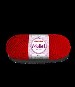 Lã Mollet 40g Cor - 142 - PIMENTA