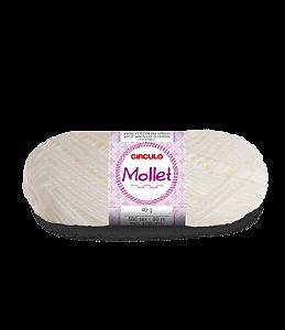 Lã Mollet 40g Cor - 20 - NATURAL